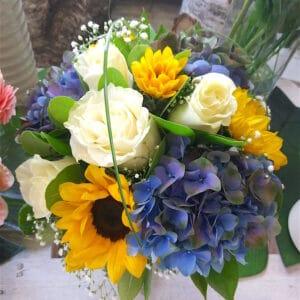 bouquet di fiori colori vari - consegna a domicilio