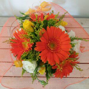 cappelliera con fiori vari colori - consegna a domicilio