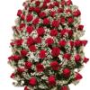 cuscino per funerale con rose varie colori e dimensioni - consegna a domicilio
