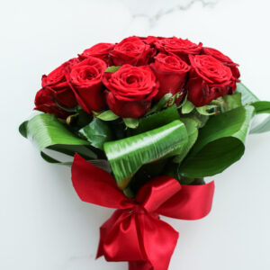 bouquet di rose rosse - consegna a domicilio