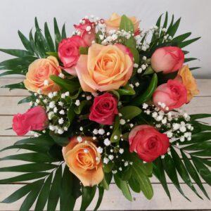 bouquet rose vario colore - consegna a domicilio