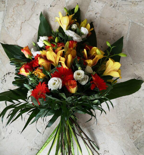 mazzo di fiori - consegna a domicilio