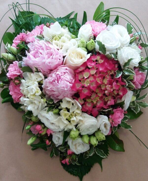 cuore fiorito - consegna a domicilio